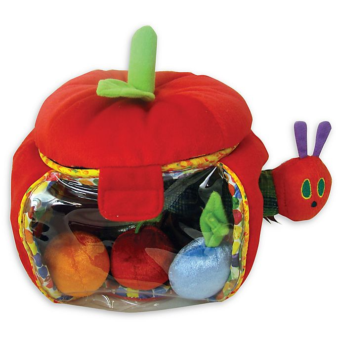 Alternate image 1 for Eric Carle™ The Very Hungry Caterpillar™ Plush Apple Playset