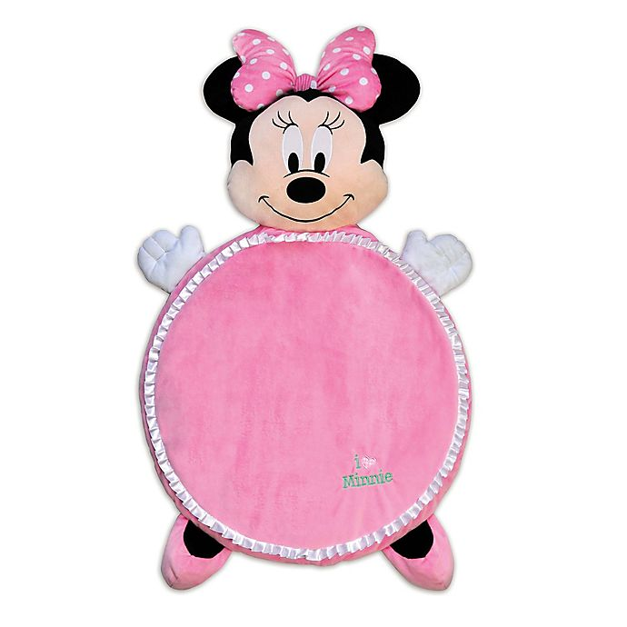 Alternate image 1 for Disney® Minnie Mouse Plush Playmat