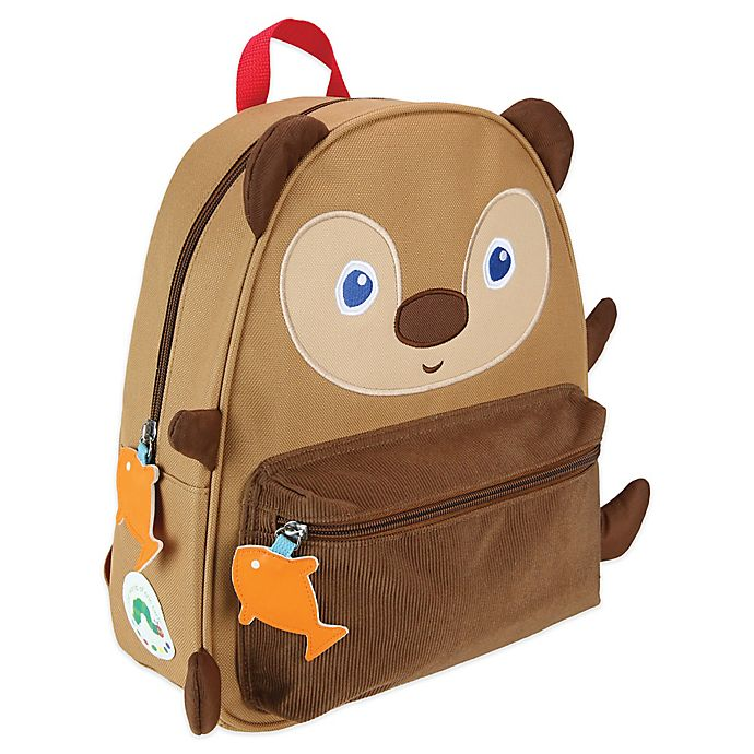 Alternate image 1 for Eric Carle™ Brown Bear Canvas Backpack