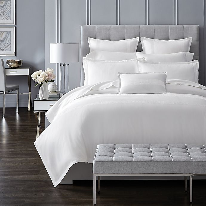 Charisma 174 Bianco Duvet Cover Collection Bed Bath And