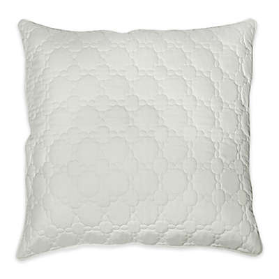 Charisma® Loire European Pillow Sham in Winter White