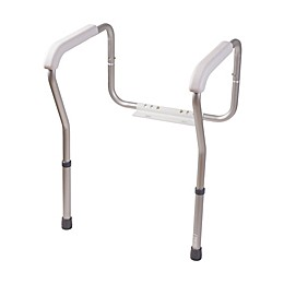 HealthSmart Adjustable Toilet Safety Arms