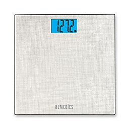 HoMedics® Textured Digital Bathroom Scale in White