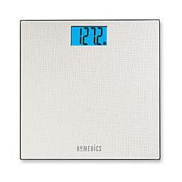 HoMedics® Textured Digital Bathroom Scale in White