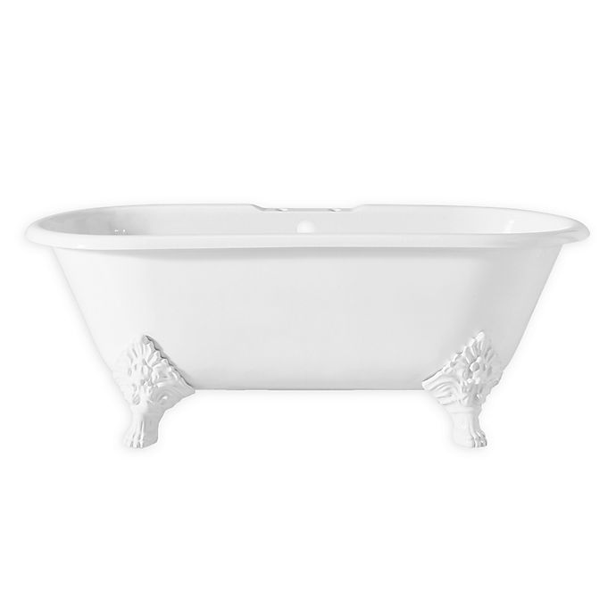 cheviot carlton 70 inch cast iron bathtub with feet bed bath beyond. Black Bedroom Furniture Sets. Home Design Ideas