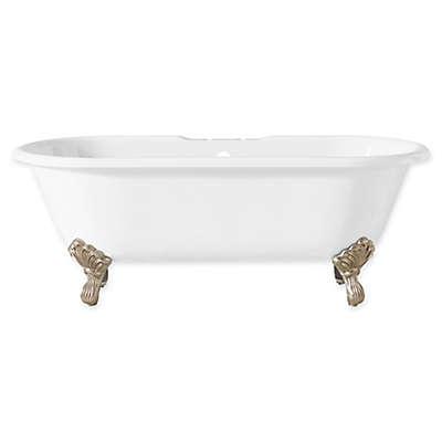 Cheviot Regal 61-Inch Cast Iron Bathtub with Feet