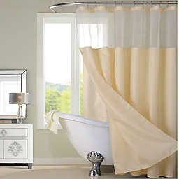 Dainty Home 70-Inch x 72-Inch Waffle Shower Curtain and Liner Set in Ivory
