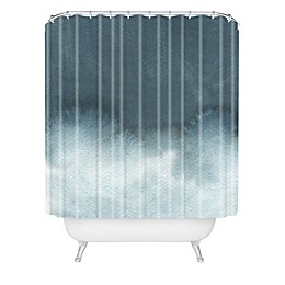 Deny Designs Elena Blanco Storm In Grey Shower Curtain