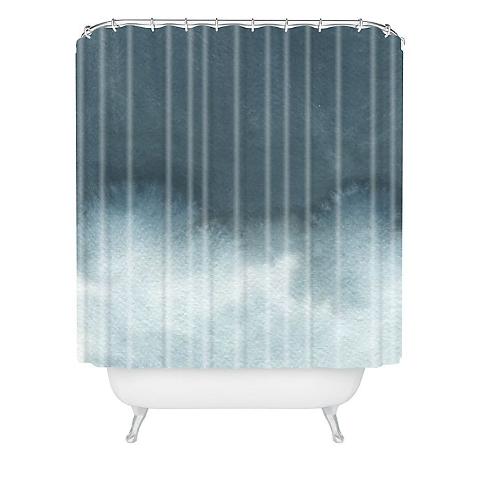 Alternate image 1 for Deny Designs Elena Blanco Storm In Grey Shower Curtain