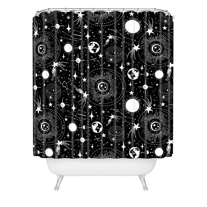 Alternate image 1 for Deny Designs Heather Dutton Solar System Shower Curtain