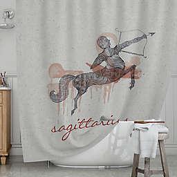 KESS InHouse® Sagittarius Shower Curtain