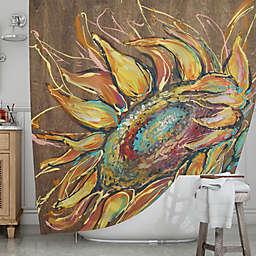 KESS InHousereg Sunflower Shower Curtain