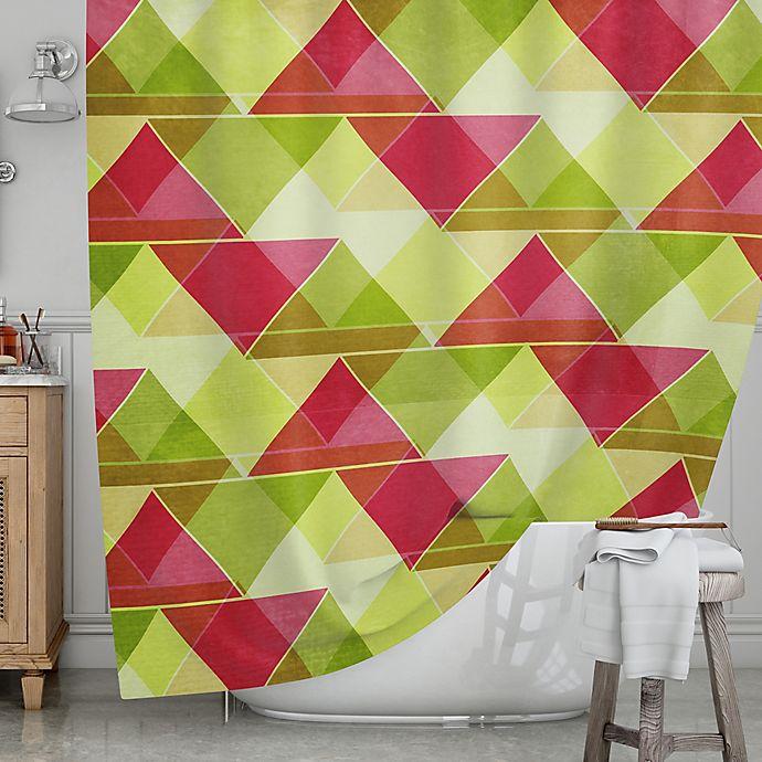 Alternate image 1 for KESS InHouse® Palm Beach Shower Curtain