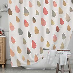 KESS InHousereg Opal Drops Dusk Shower Curtain