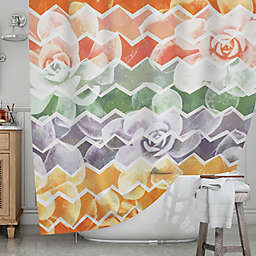 KESS InHouse® Desert Dreams Shower Curtain