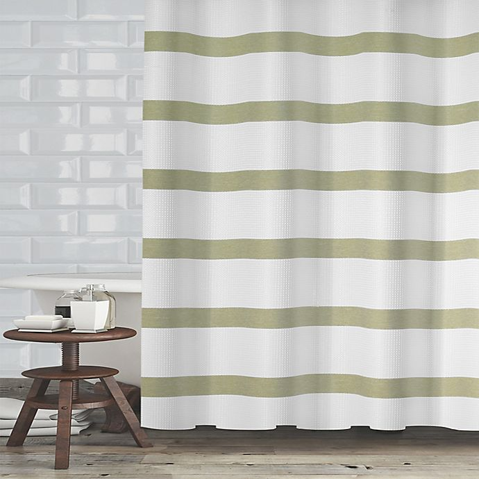 Alternate image 1 for Maluberry 72-Inch x 70-Inch Shower Curtain in Sage