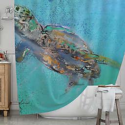 KESS InHousereg Daddy Shower Curtain