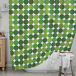 KESS InHousereg Noblefur Shower Curtain In Green