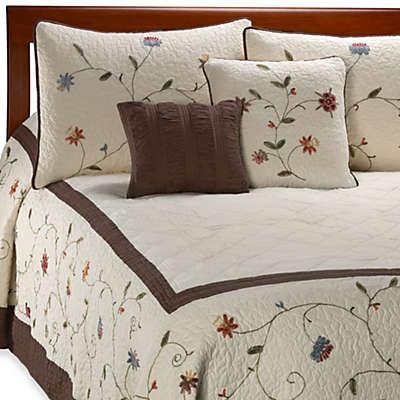 Ambria Chocolate Bedspread