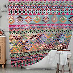 KESS InHousereg Tribal Native Shower Curtain
