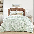 Coastal Living® Green Palm Reversible Full/Queen Comforter Set in Green/Ivory