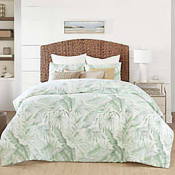 Coastal Living® Green Palm Reversible Comforter Set