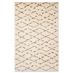 Safavieh Casablanca Harmony 5'x 8' Area Rug in Ivory/Brown