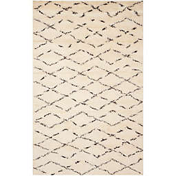 Safavieh Casablanca Harmony 6' x 9' Area Rug in Ivory/Brown