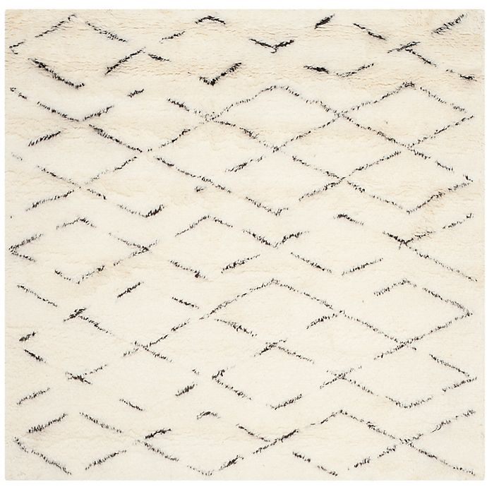 Alternate image 1 for Safavieh Casablanca Harmony 8' x 8' Square Rug in Ivory/Brown
