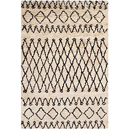 Safavieh Casablanca Hannah 3' x 5' Area Rug in Ivory/Natural