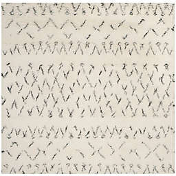 Safavieh Casablanca Hannah 6' Square Area Rug in Ivory/Grey