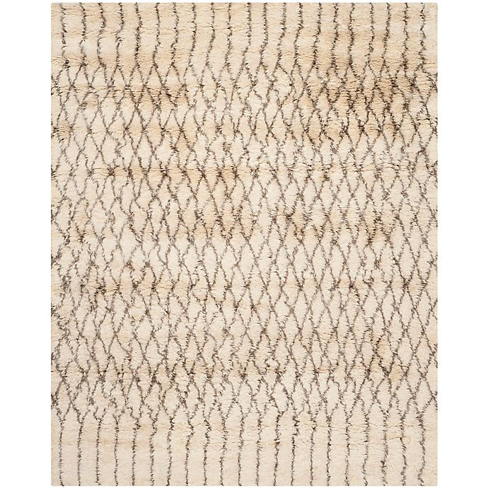 Alternate image 1 for Safavieh Casablanca Dakota 8' x 10' Area Rug in Ivory/Grey