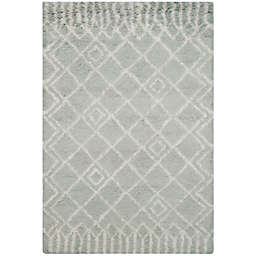 Safavieh Casablanca Dylan 4' x 6' Area Rug in Blue/Ivory