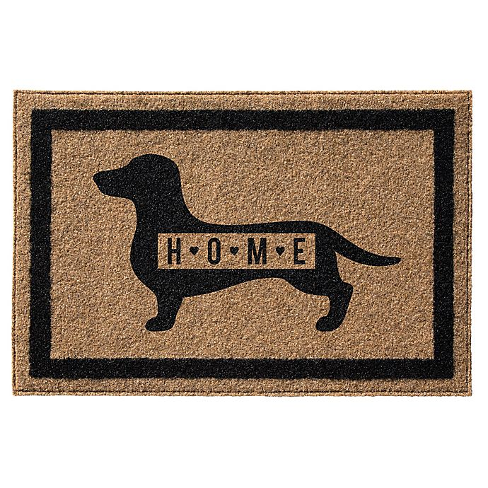 Alternate image 1 for Infinity™ Dachsund Home Door Mat