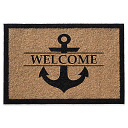 Anchor Welcome Door Mat