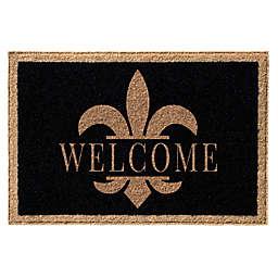 Infinity™ Fleur De Lis Welcome Door Mat