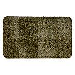 Clean Machine® GrassWorx Flair 18-Inch x 30-Inch Door Mat in Medium Green