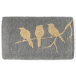 Fab Habitat Extra Thick Birds on a Branch 24-Inch x 36-Inch Door Mat