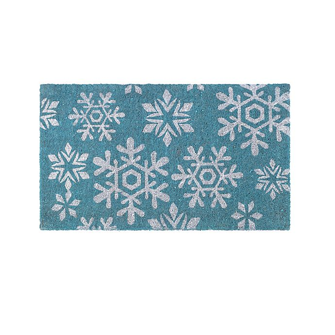 Alternate image 1 for Fab Habitat Extra Thick Snowfall 18-Inch x 30-Inch Door Mat