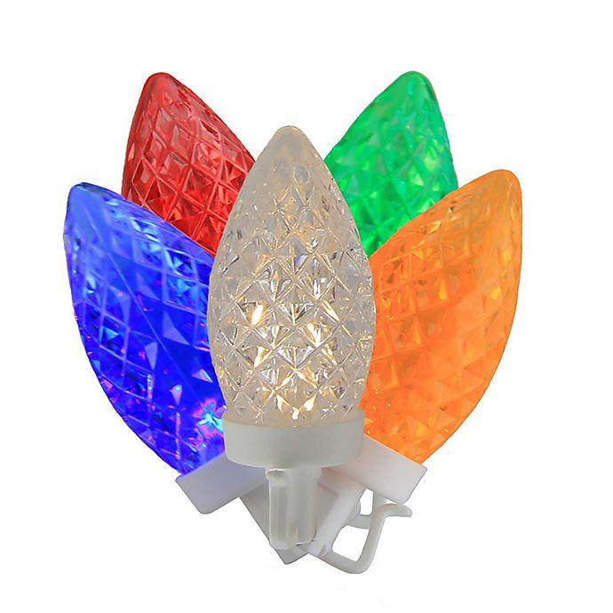 Alternate image 1 for Brite Star 41.75-Foot 100-Light Multicolor C9 Christmas String Lights