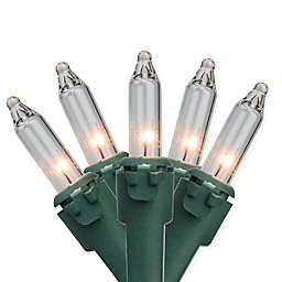 Bethlehem Lighting 47-Foot 100-Light Commercial Clear Mini Christmas String Lights
