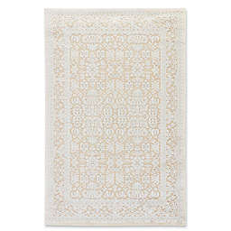 Jaipur Fables Regal 5-Foot x 7-Foot 6-Inch Area Rug in Taupe/Ivory