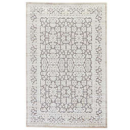 Jaipur Fables Regal 7-Foot 6-Inch x 9-Foot 6-Inch Area Rug in Ivory/Grey
