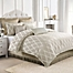 Part of the Judith Ripka Clover Lattice Comforter Set