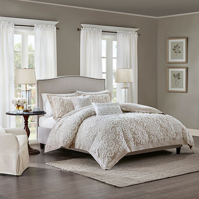 Alternate image 1 for Harbor House™ Suzanna King Comforter Set in Taupe