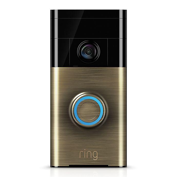 Ring Wireless Video DoorBell 2nd Generation 1080HD Video Satin Nickel