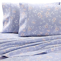 Wamsutta® PimaCott® Vine Floral 625-Thread-Count Standard Pillowcase Set in Silver