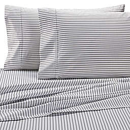 Wamsutta® Stripe 625-Thread-Count PimaCott© Pillowcases in White (Set of 2)