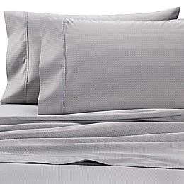 Wamsutta® Leaf 625-Thread-Count PimaCott© Pillowcases in Grey (Set of 2)