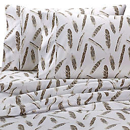 Wamsutta® PimaCott® Feathers 625-Thread-Count King Pillowcase Set in Taupe